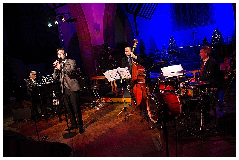 St Paul's Church – Egham Hythe, Strictly White Christmas 2013