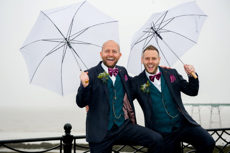 James & Marcus – Clevedon Hall